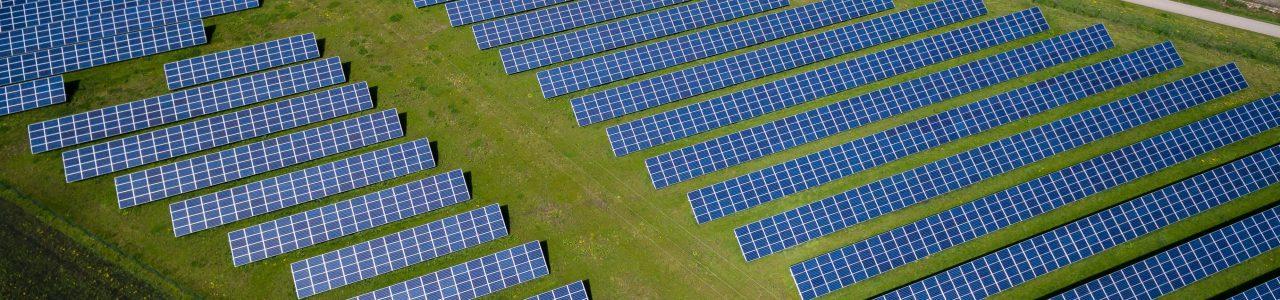 Drohnenaufnahmen Solarparks